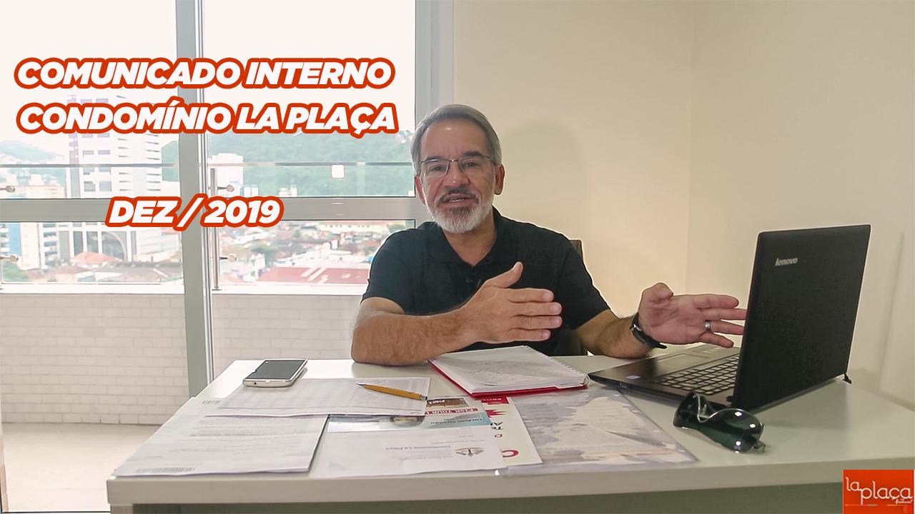 Vídeo JS Consultoria - Comunicação Interna Cond. La Plaça Dez/2019